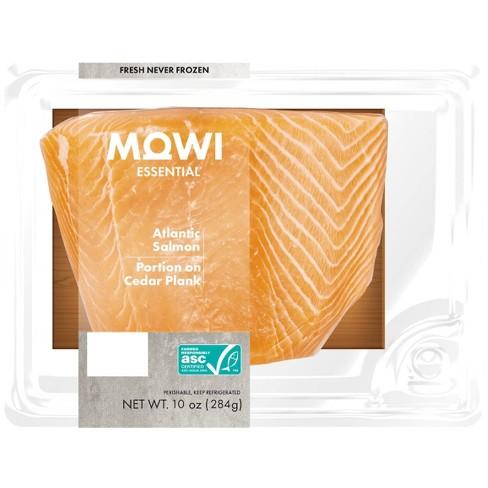 MOWI Fresh Atlantic Salmon Portion on Cedar Plank - 10oz - image 1 of 3