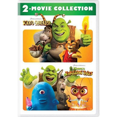 Scared Shrekless/Shrek's Thrilling Tales 2-Movie Collection (DVD) - image 1 of 1