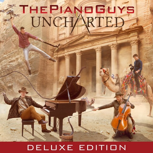 Piano Guys - Uncharted (CD) - image 1 of 1