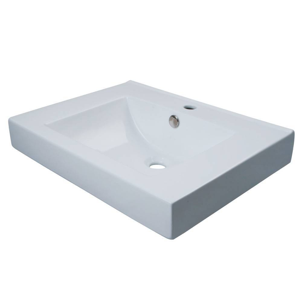Image of Wall Mount/ Table Mount Bathroom Sink - Kingston Brass