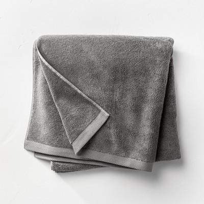 Organic Bath Sheet Dark Gray - Casaluna™
