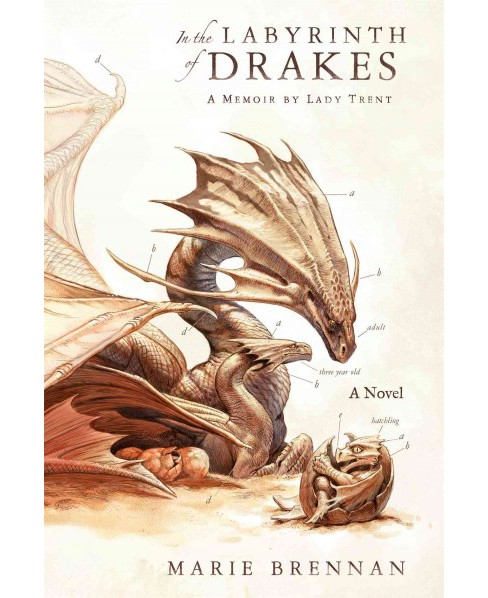 In the Labyrinth of Drakes : A Memoir by Lady Trent (Reprint) (Paperback) (Marie Brennan) - image 1 of 1