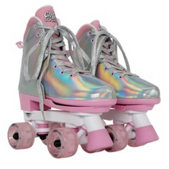 Circle Society Adjustable Skate Disco B Size 3-7, Kids Unisex