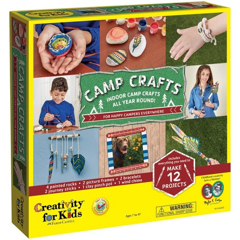 Creativity For Kids Camp Crafts Project Kit - image 1 of 4