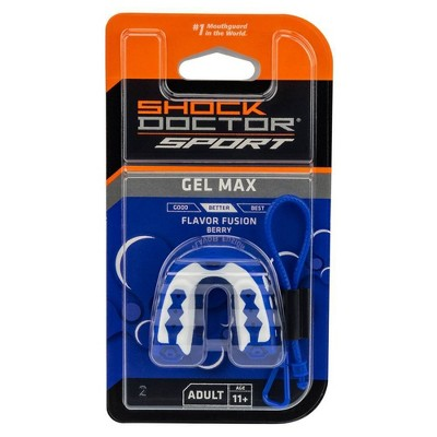 Shock Doctor Gel Max Flavor Fusion Adult - Blue Raspberry