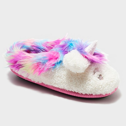 Girls' Dearfoams Novelty Clog - image 1 of 4