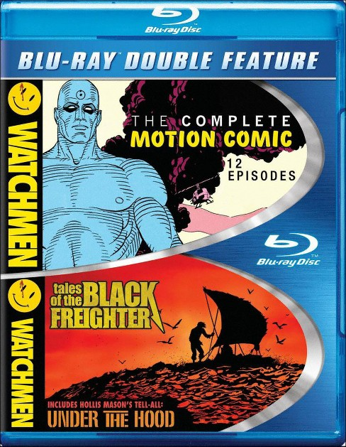 Watchmen:Motion comic/Freighter/Under (Blu-ray) - image 1 of 1