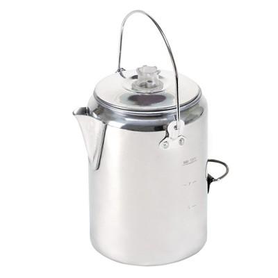 Stansport Aluminum Percolator Coffee Pot 9 Cup