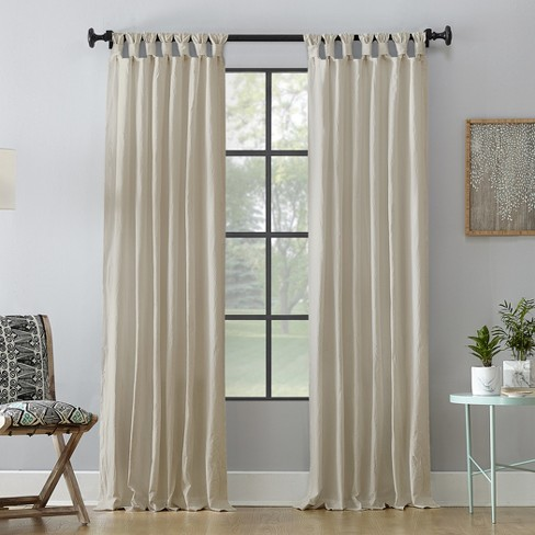 Washed Cotton Twist Tab Curtain - Archaeo - image 1 of 4