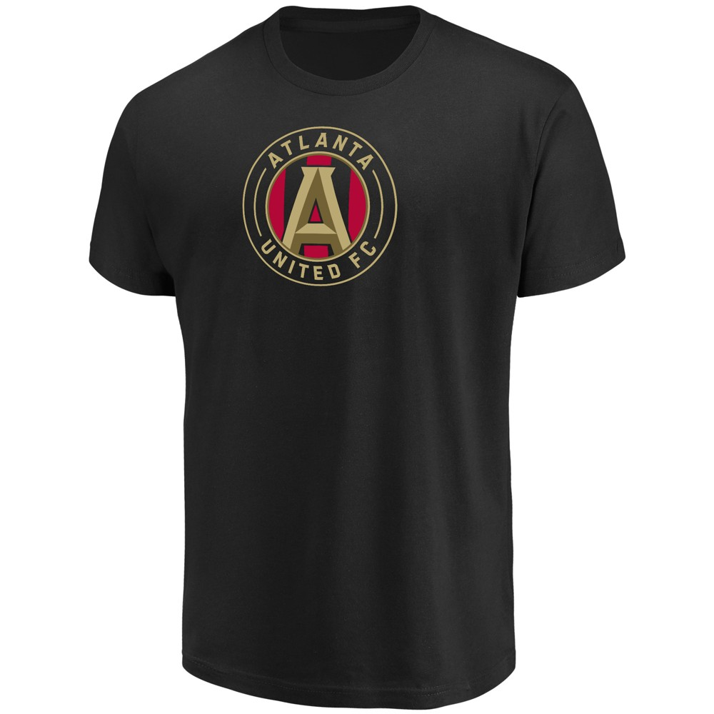 Mls Men's Short Sleeve Top Ranking Core T-Shirt Atlanta United FC- M, Multicolored