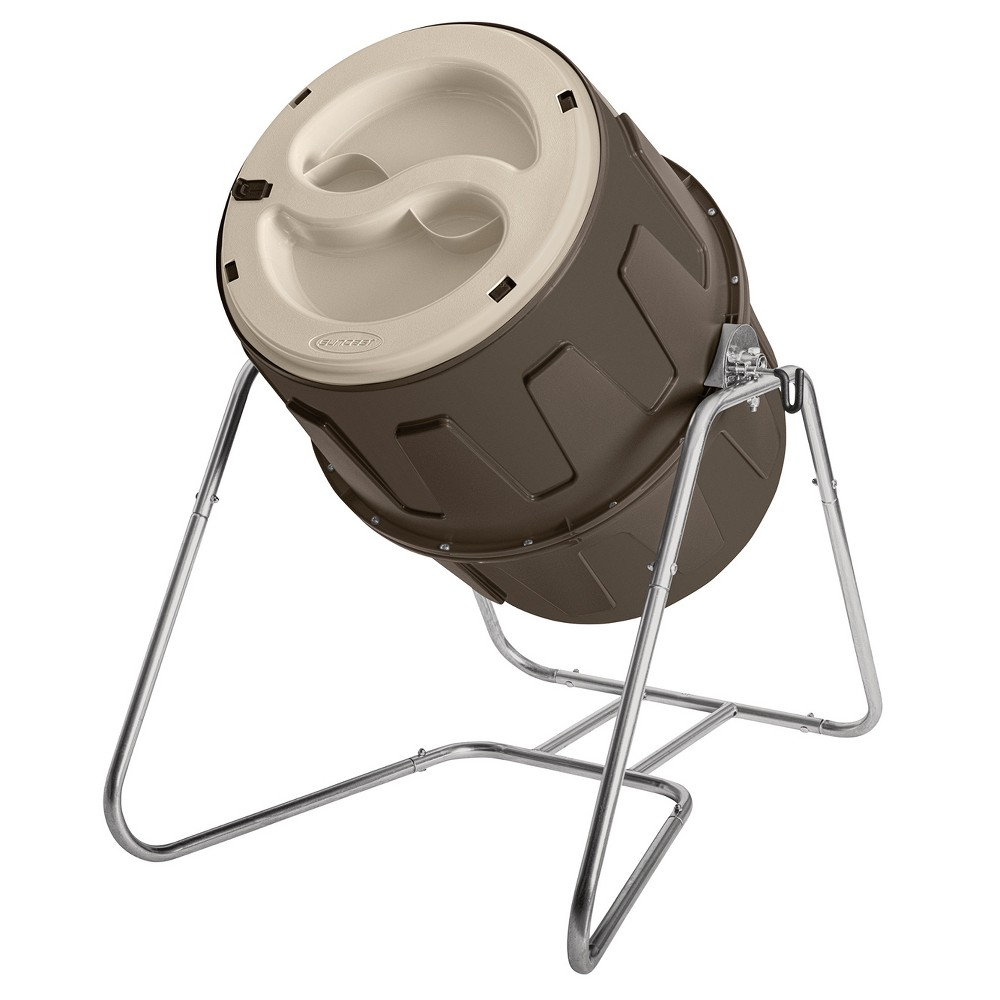 Image of Suncast Tumbling Compost Bin - Brown - Suncast