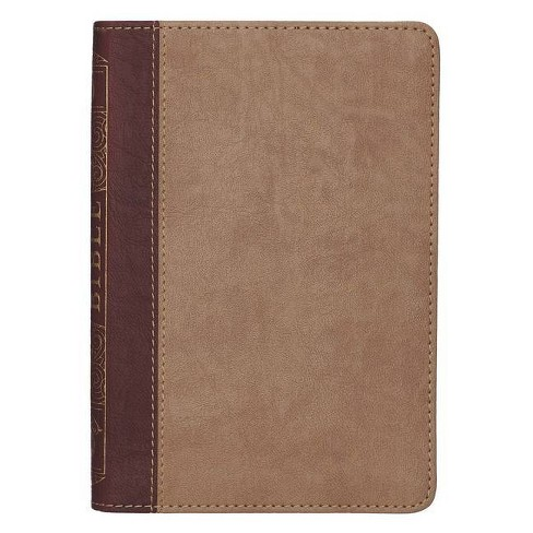 KJV Compact Two Tone - (Leather_bound) - image 1 of 1
