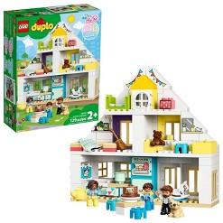 LEGO DUPLO Town Modular Playhouse 10929 with Furniture and Family