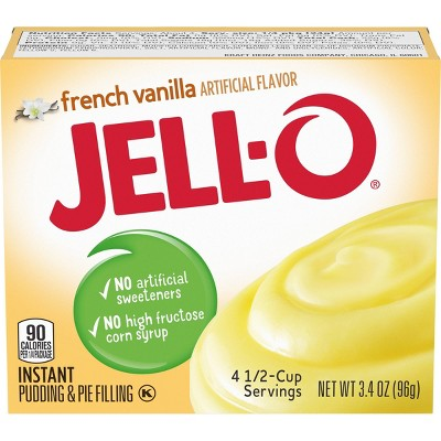 JELL-O French Vanilla Instant Pudding & Pie Filling - 3.4oz