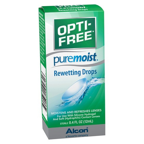 Opti-Free Pure Moist Rewetting Drops - 0.4 fl oz - image 1 of 1