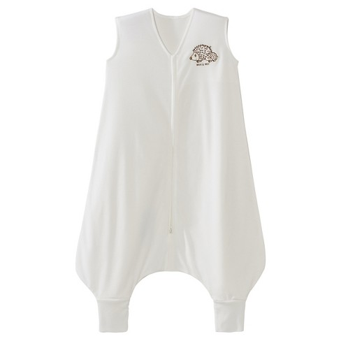 HALO ® SleepSack® Big Kids Wearable Blanket 100% Polyester Light Weight Knit - Cream with Hedgehogs Embroidery - image 1 of 3