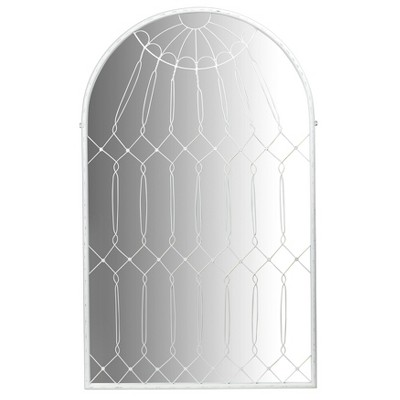 Arched Iron Cage Design Decorative Wall Mirrors - 3R Studios