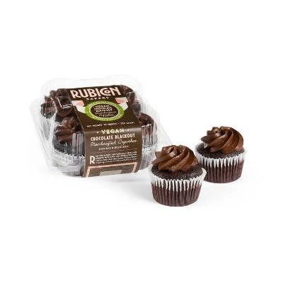 Rubicon Bakery Vegan Blackout Cupcakes - 10oz/4ct