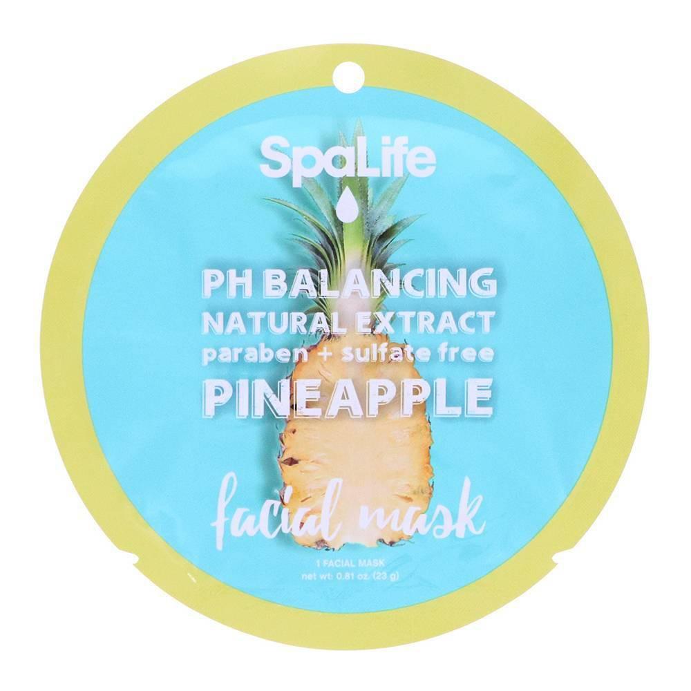 Image of SpaLife PH Balancing Face Mask Pineapple - 0.81oz