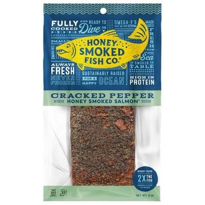 Honey Smoked Fish Co. Cracked Pepper Salmon - 8oz