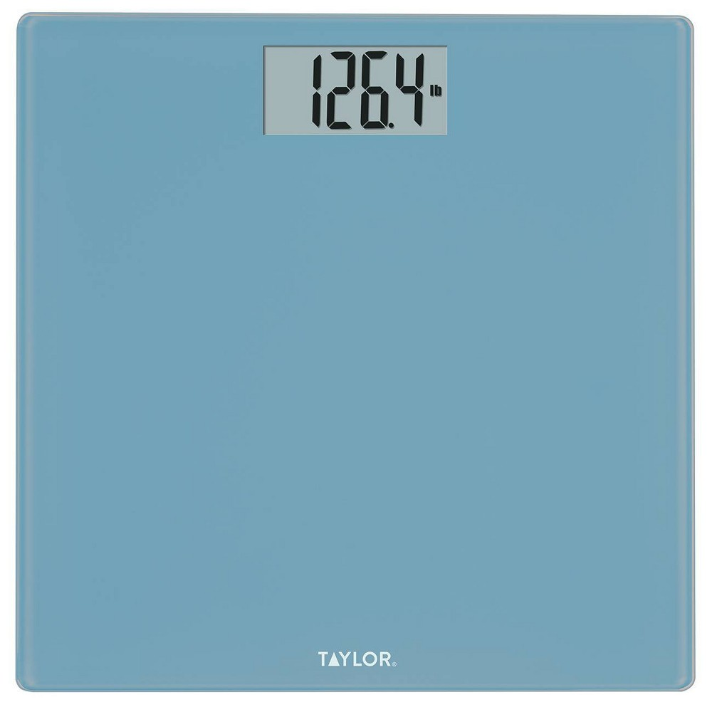 Image of Digital Glass Bath Scale Aqua - Taylor