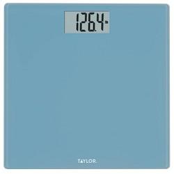 Digital Glass Bathroom Scale with Spa Blue - Taylor