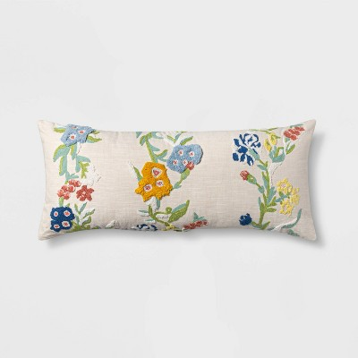 Oversized Lumbar Floral Pillow - Opalhouse™
