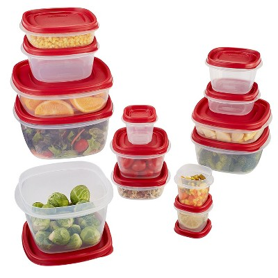 Rubbermaid 28pc Food Storage Containers with Easy Find Lids