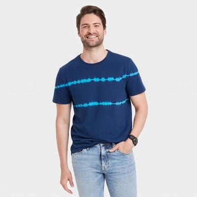 Men's Casual Fit Short Sleeve T-Shirt - Goodfellow & Co™ Blue
