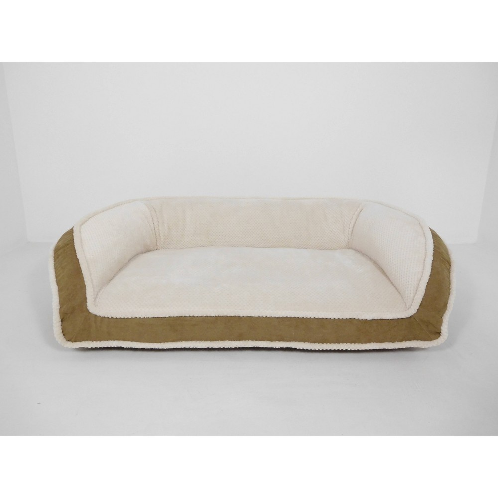 Arlee Home Fashions Deep Seated Lounger Sofa And Couch Style Driftwood Dog Bed 40x25