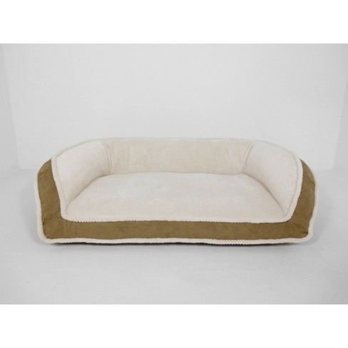 Arlee Home Fashions Deep Seated Lounger Sofa and Couch Style Driftwood Dog Bed - 35x22 - image 1 of 4