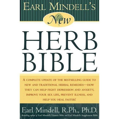 Earl Mindell's New Herb Bible - 2 Edition (Paperback) - image 1 of 1