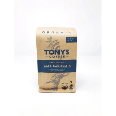 Tony's Coffee Café Carmelita Medium Roast Whole Bean Coffee - 12oz