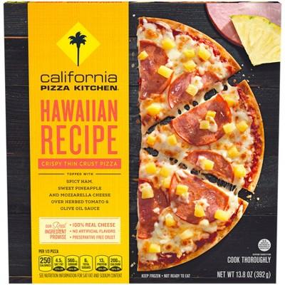 california pizza kitchen hawaiian recipe crispy thin crust frozen rh target com california pizza kitchen recipe- chicken tequila fettuccine california pizza kitchen recipes salad