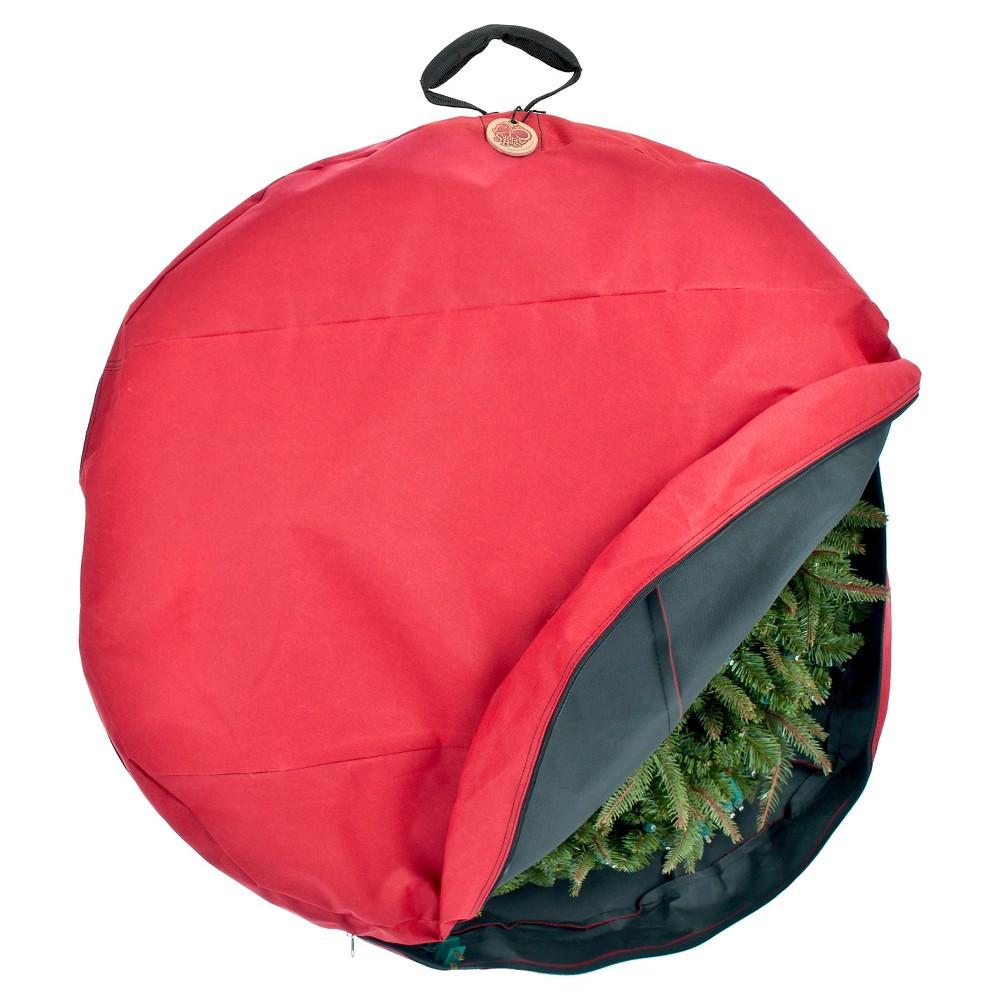 "Image of ""Santa's Bag 36"""" Direct Suspend Wreath Storage Bag"""