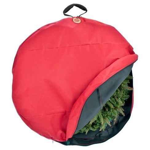 "Santa's Bag 36"" Direct Suspend Wreath Storage Bag - image 1 of 3"