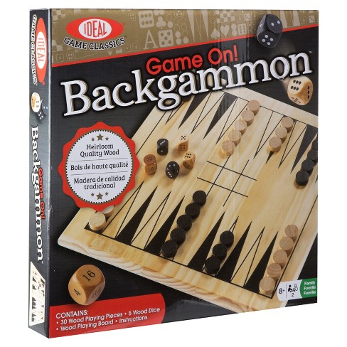 Ideal Game On! Backgammon Game - image 1 of 7