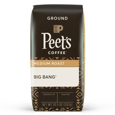 Peet's Coffee Big Bang Medium Roast Ground Coffee - 10.5oz