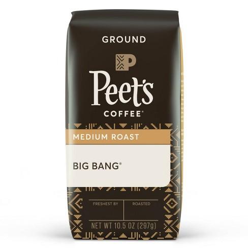 Peet's Coffee Big Bang Medium Roast Ground Coffee - 10.5oz - image 1 of 4