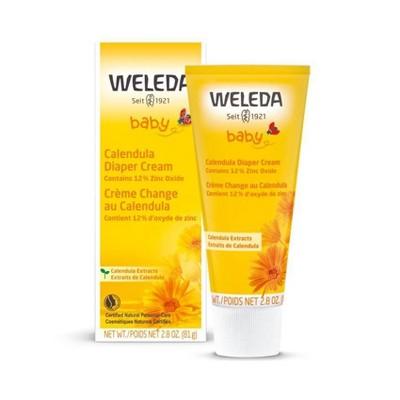 Weleda Calendula Diaper Cream with Zinc Oxide - 2.8oz