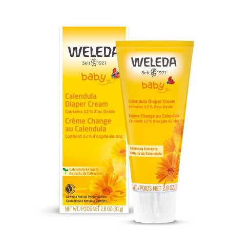 Weleda Calendula Diaper Cream with Zinc Oxide - 2.8oz - image 1 of 4
