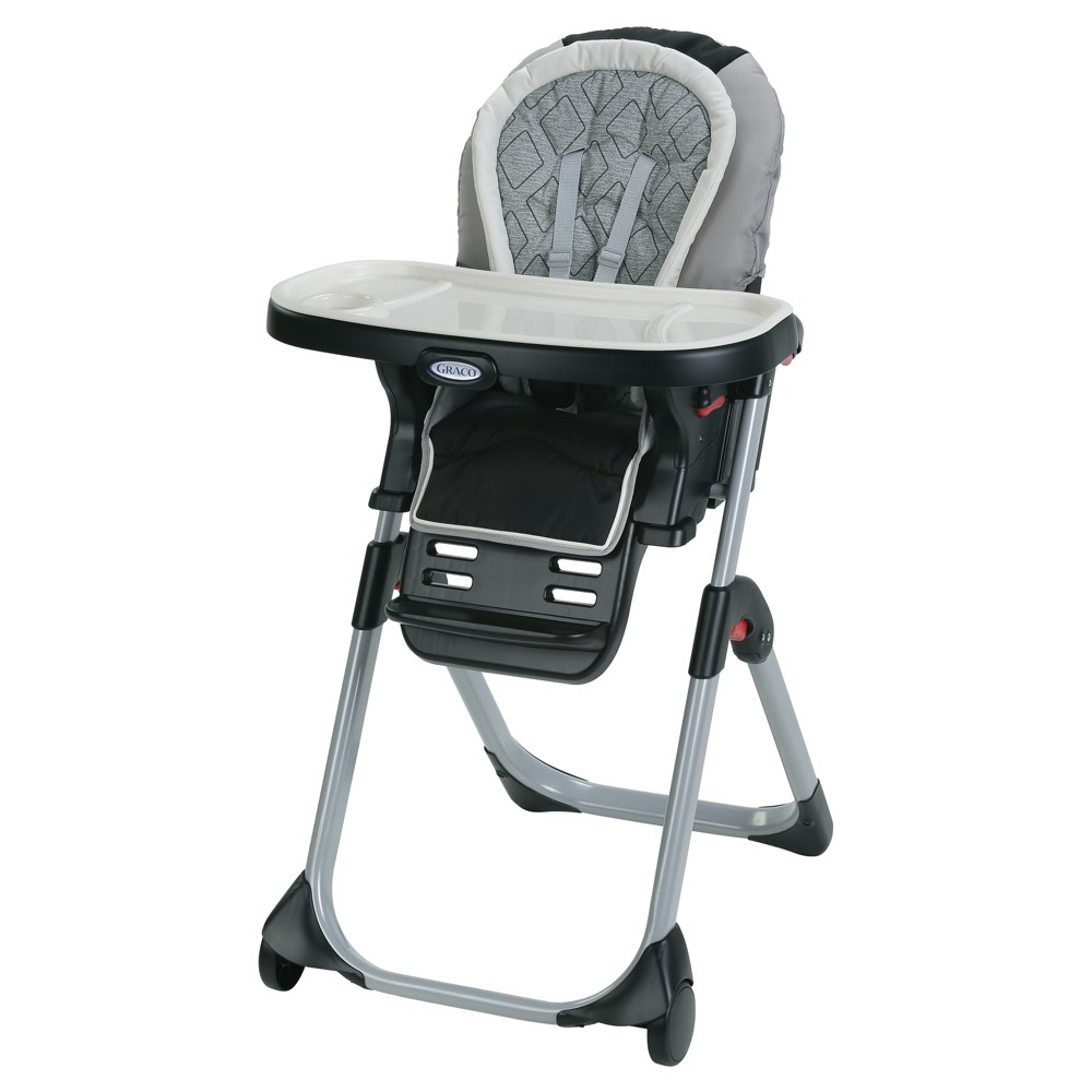 Image of Graco DuoDiner 3-in-1 Convertible High Chair - Asher, Black