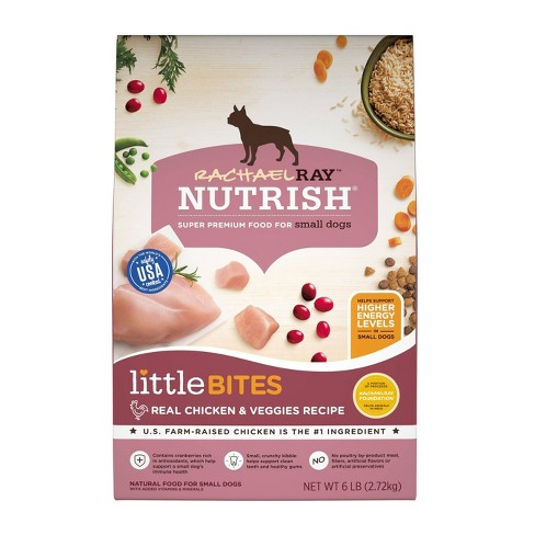 Rachael Ray Nutrish Little Bites Real Chicken and Veggies Dry Dog Food - image 1 of 4