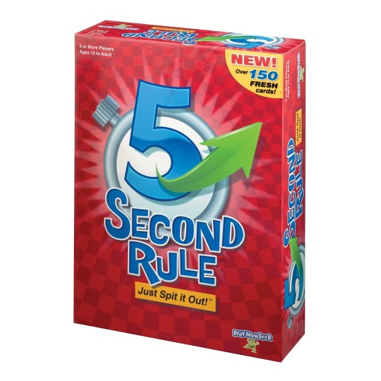 5 Second Rule Board Game, board games image number null