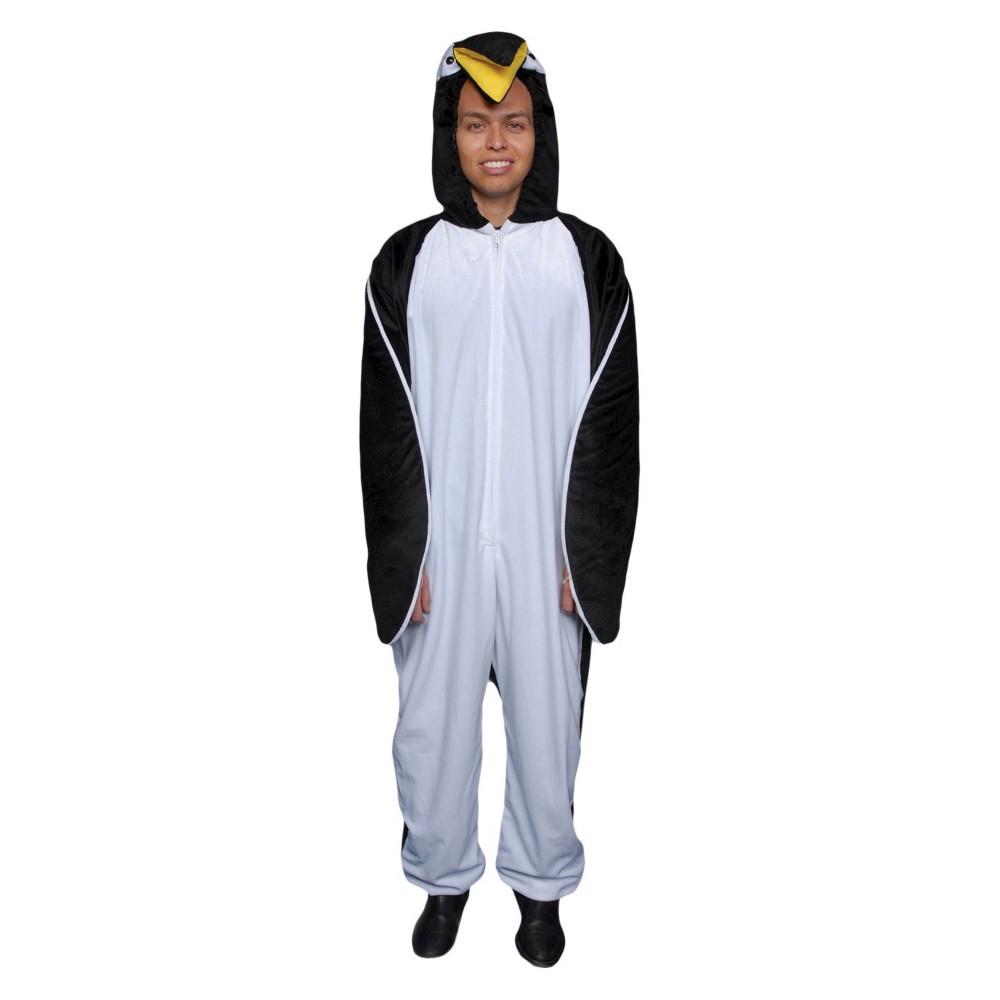 Men's Penguin Costume One Size, Multi-Colored