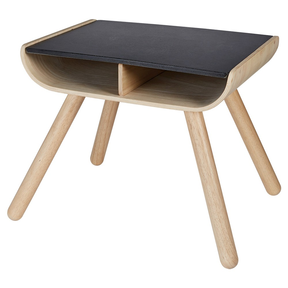 PlanToys Table - Black, Soft Play Furniture