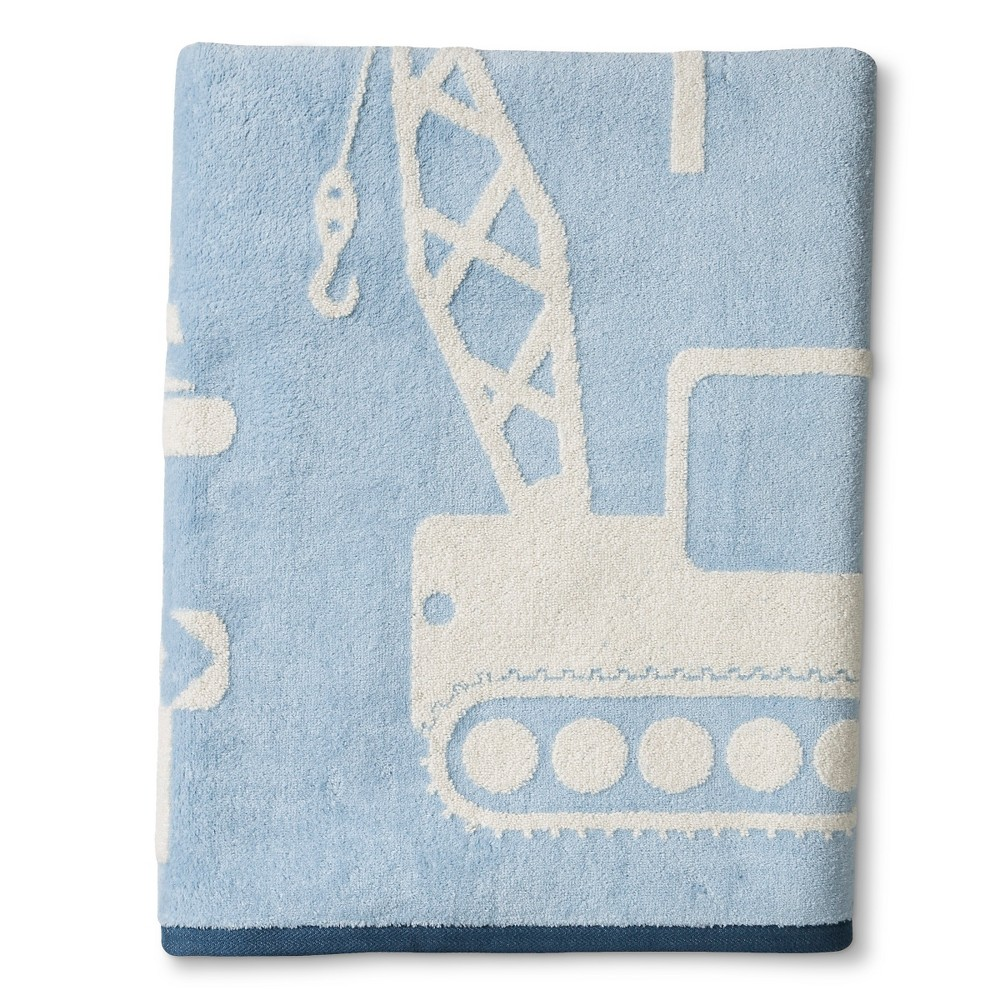Image of Builders Wash Towels Light Blue - Cassadecor, Size: Washcloth