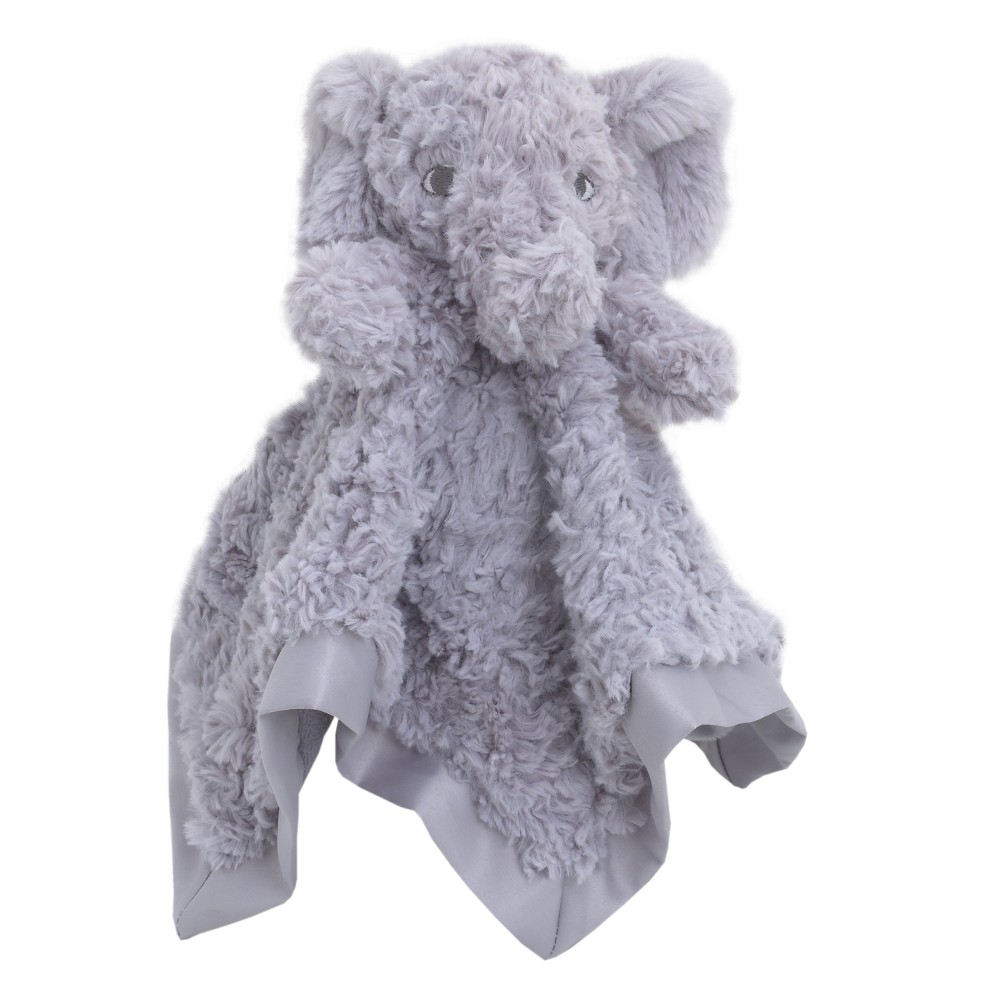Image of NoJo Cuddle Me Luxury Plush Security Blanket Elephant