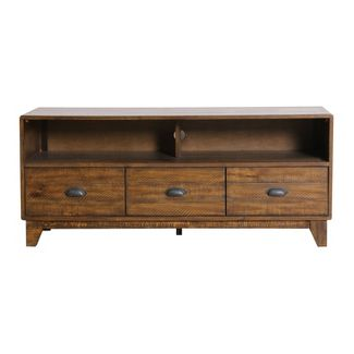 "56"" Orion Wood Media Console Brown - Abbyson Living"