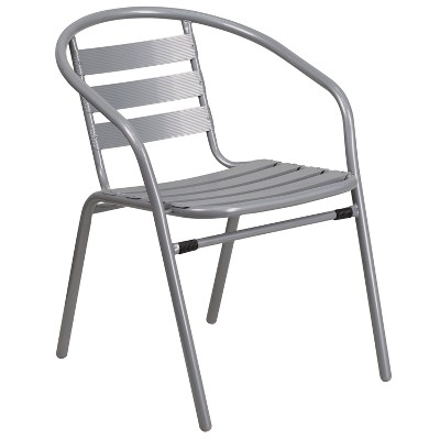 Riverstone Furniture Collection Chair With Slats Silver